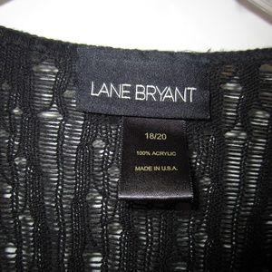 Lane Bryant Sweaters - Lane Bryant Black lightweight cardigan, SZ 18/20